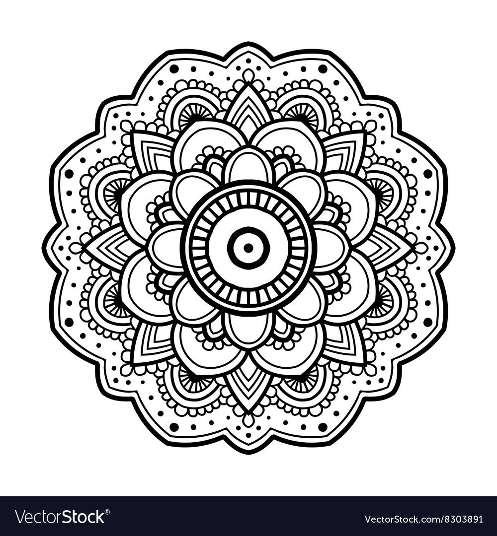 Simple floral vector designs