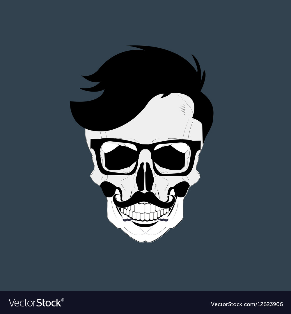 Skulls Grunge Dead vector image