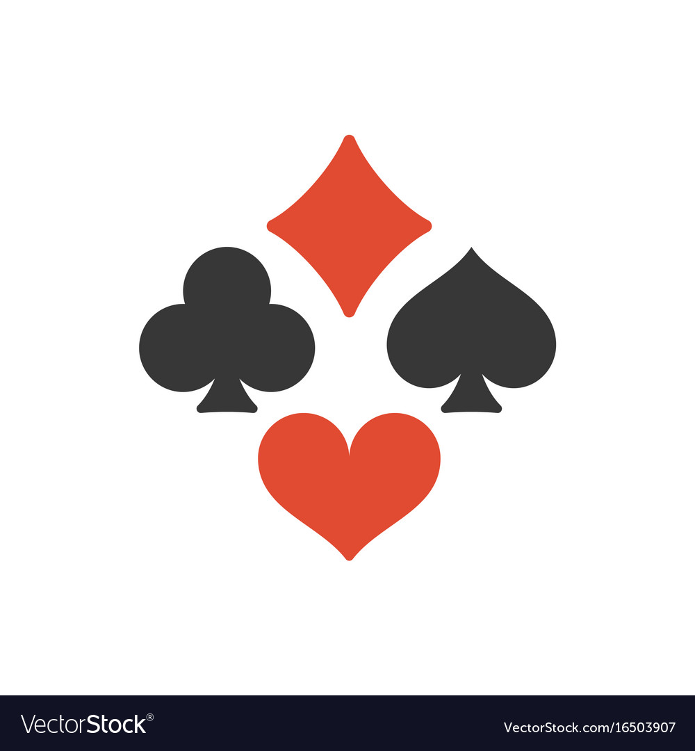 Four playing cards suits symbols royalty free vector image four playing cards suits symbols vector image biocorpaavc
