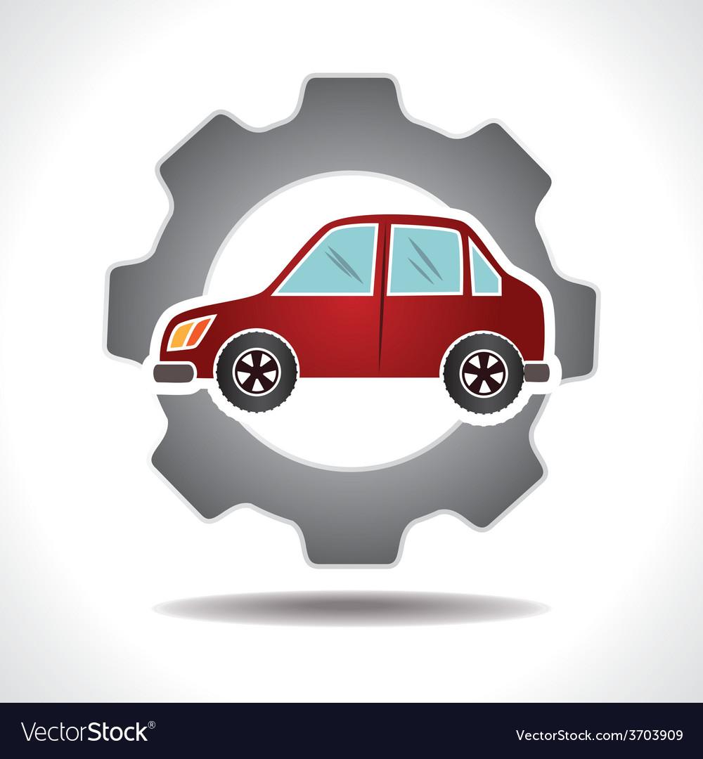 Garage design royalty free vector image vectorstock for Garage designer online free