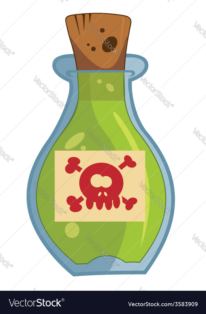 Magic elixir vector image