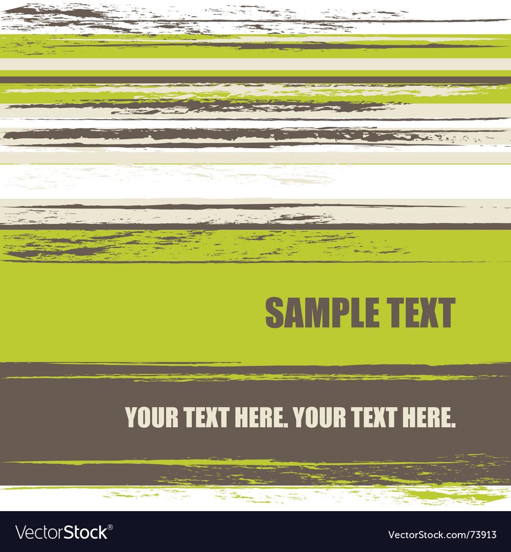 Grunge stripes background vector image