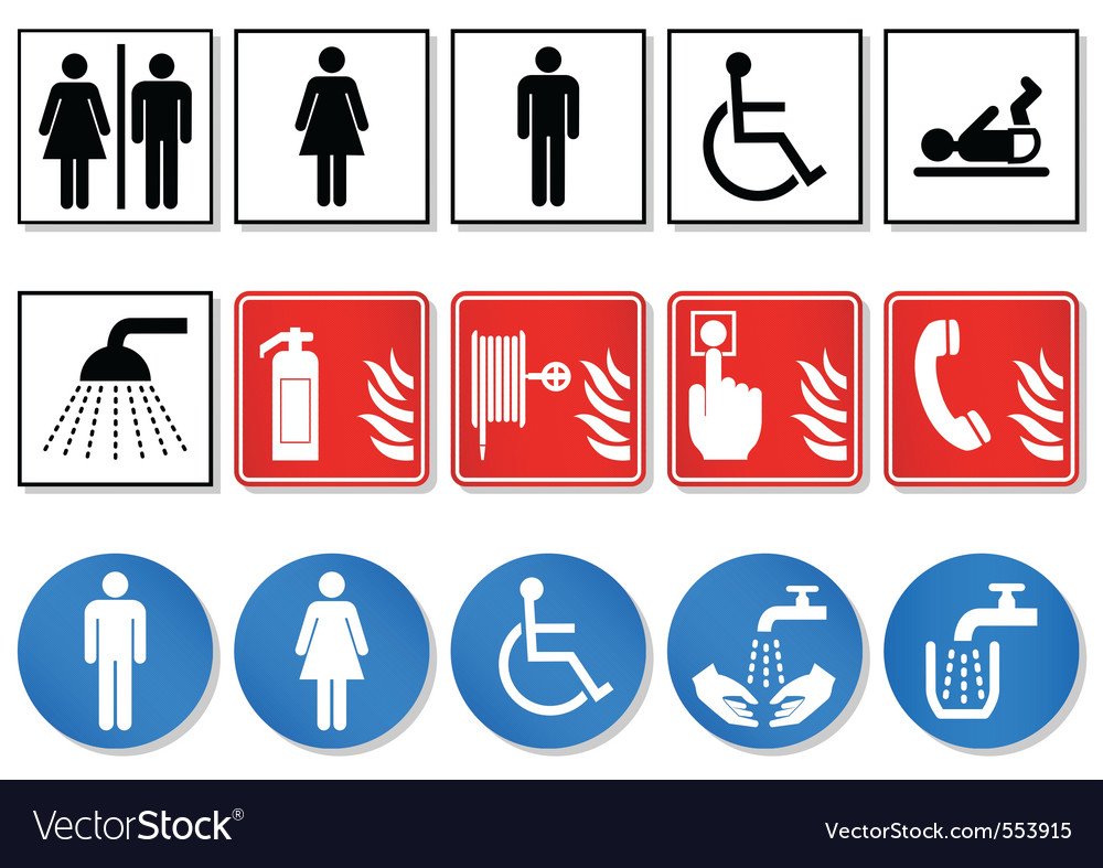 Pictogram sign vector image