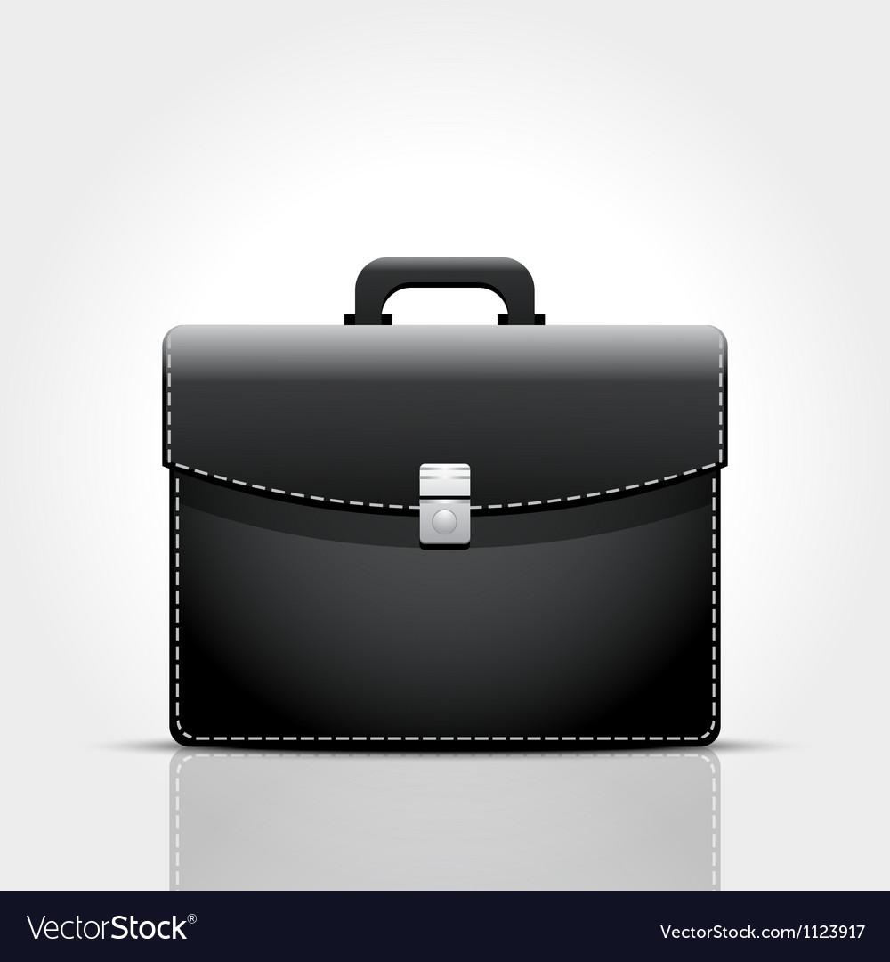 Brief case vector image