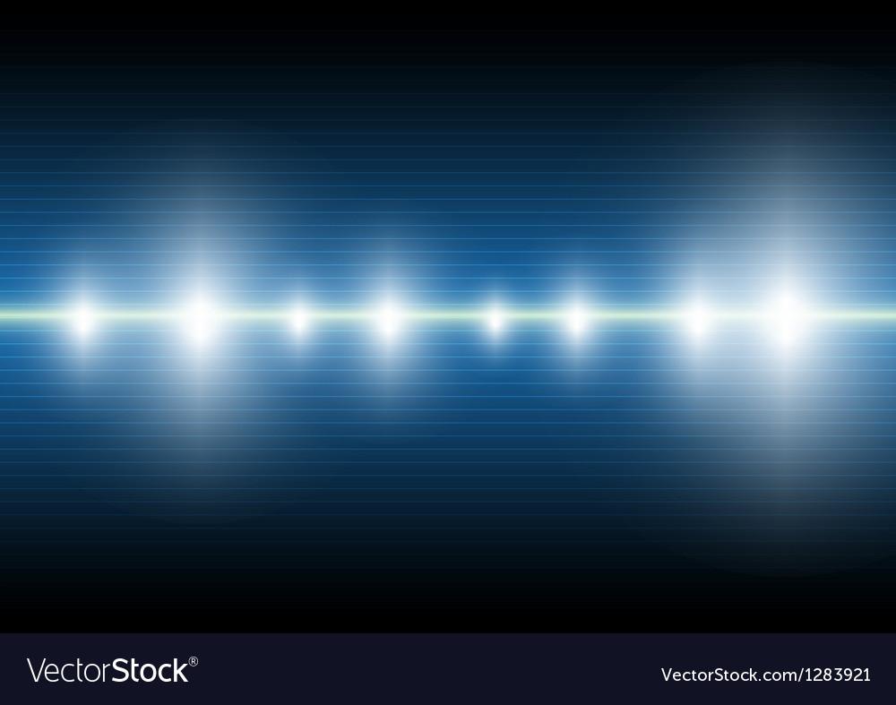 Digital wave background vector image