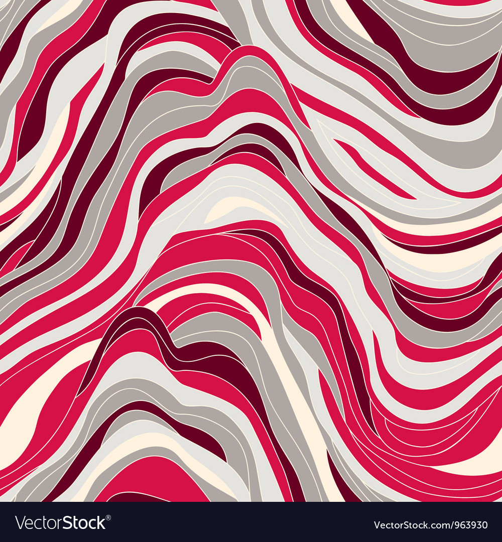 Seamless texture with waves vector image