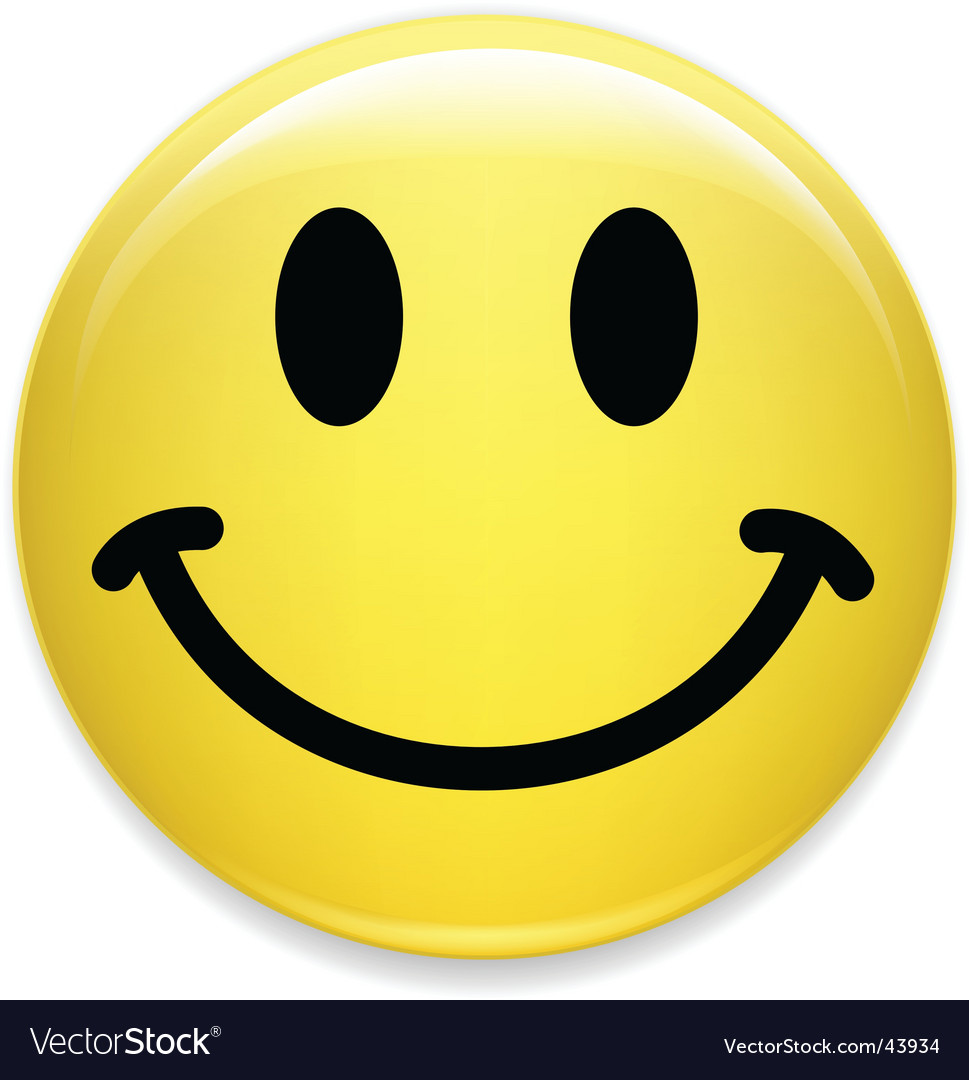 Smiley face Vector Image
