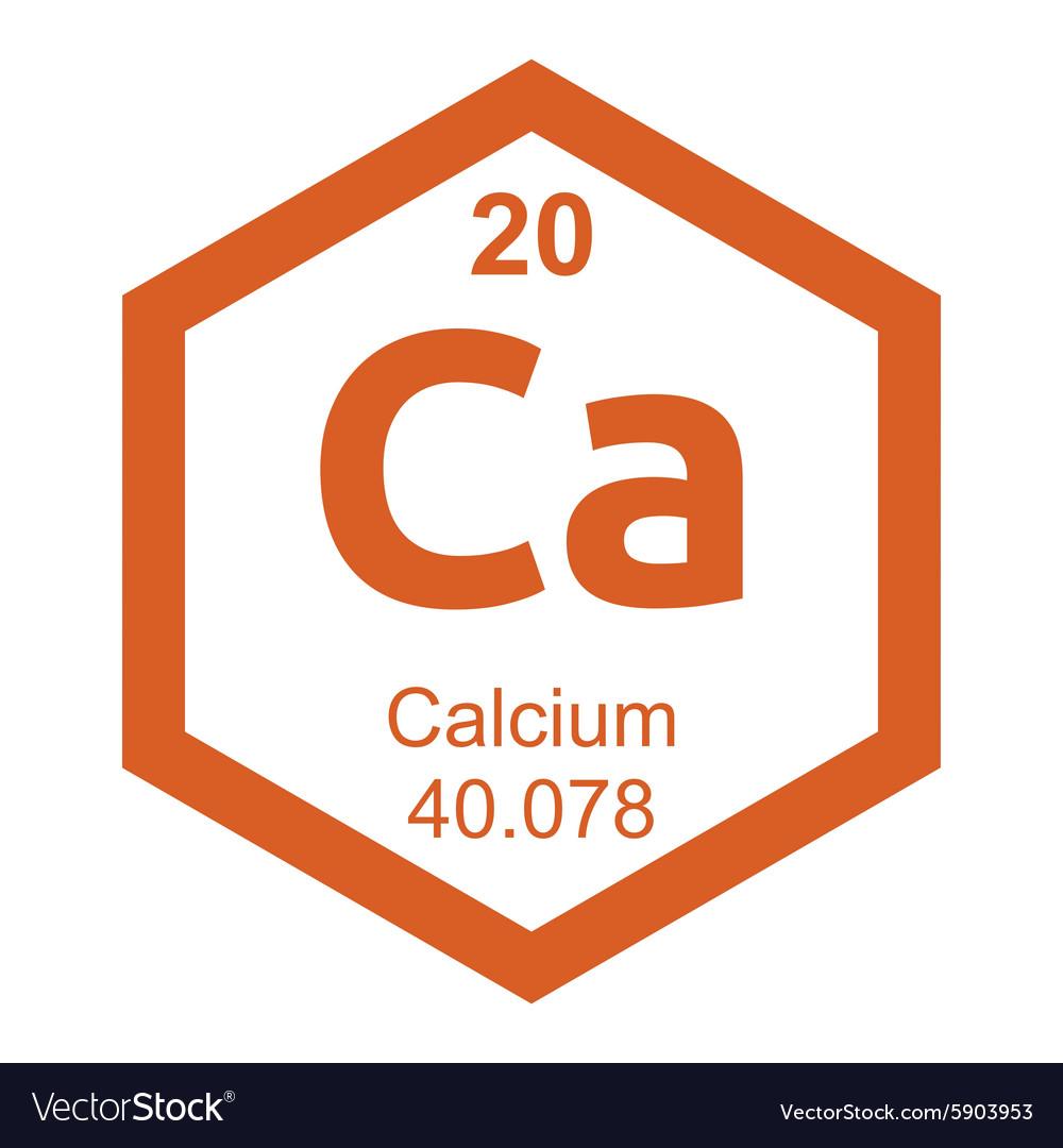 Periodic table calcium royalty free vector image periodic table calcium vector image gamestrikefo Gallery