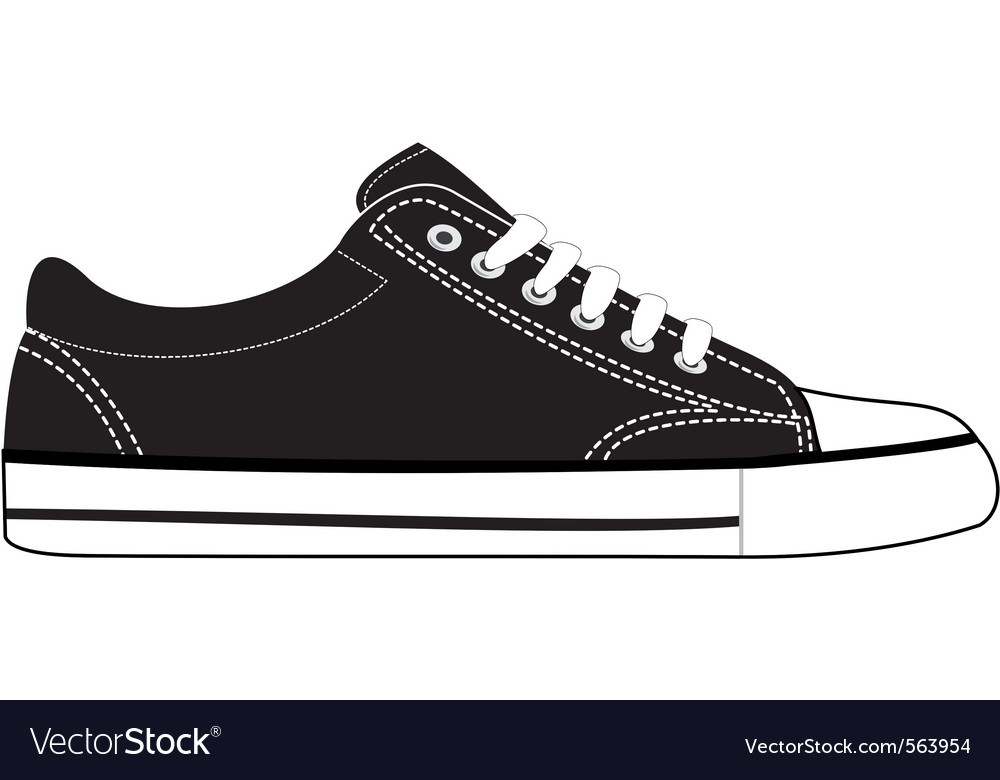 Sports sneaker vector image