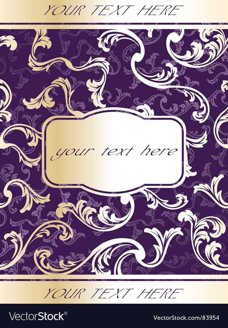 Wine label template vector image