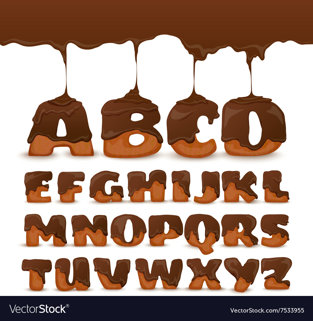 Melting Chocolate Clipart