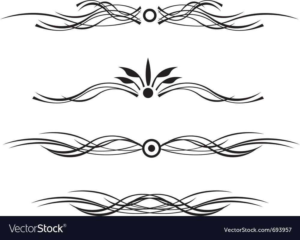 Dividing line vector image