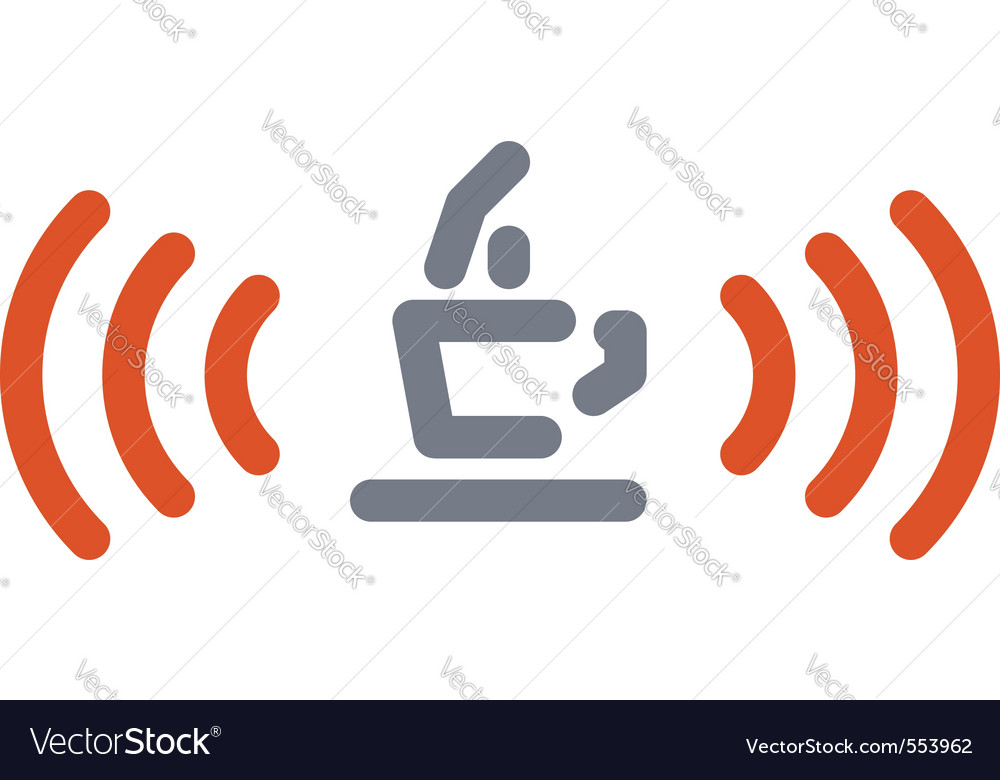 Internet cafe sign vector image