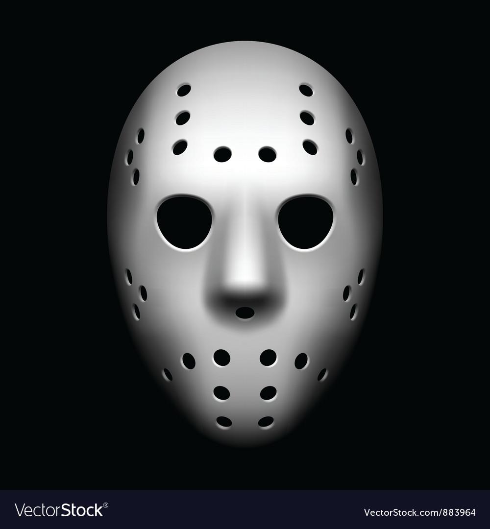 Hockey mask vector image