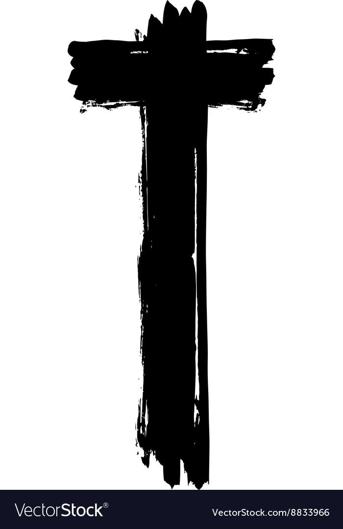 christian cross grunge religion symbol royalty free vector rh vectorstock com free vector christmas cards free vector christmas frame