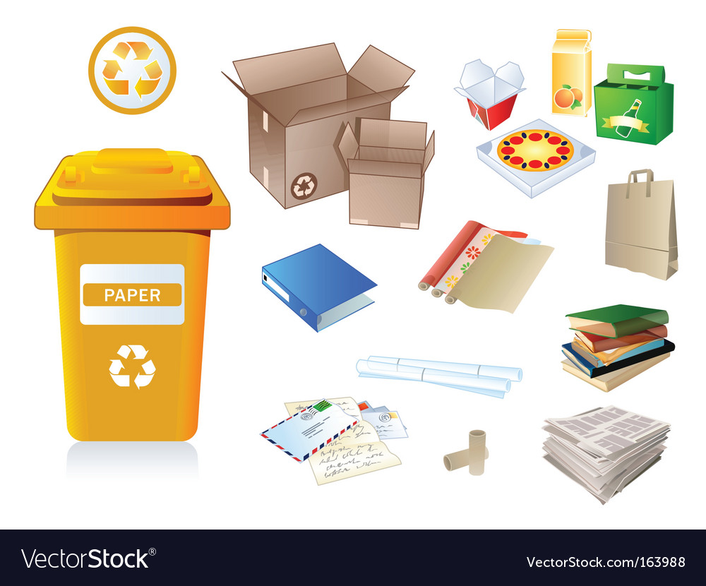 Recycle waste Vector Image