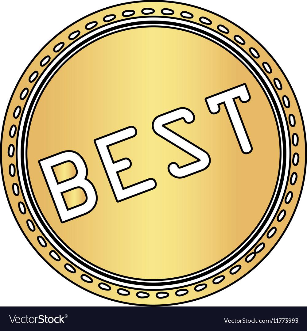 Best computer symbol vector image