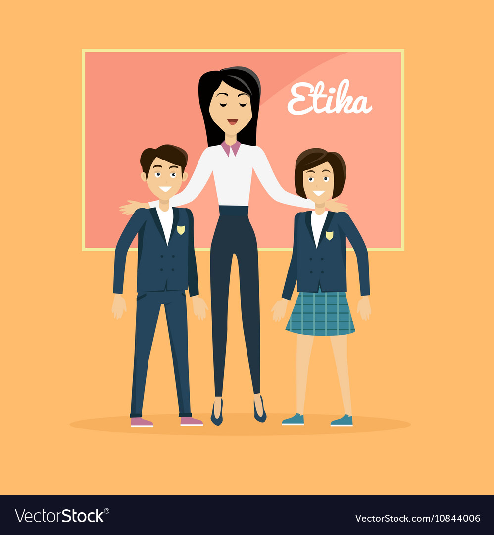Children Education Ethics Banner vector image