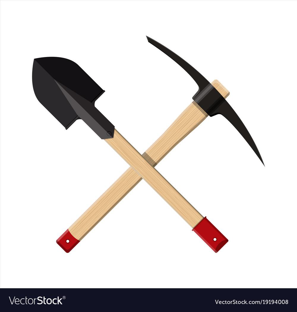 Icon Pickaxe Hammer Stock Vector 331337228 - Shutterstock