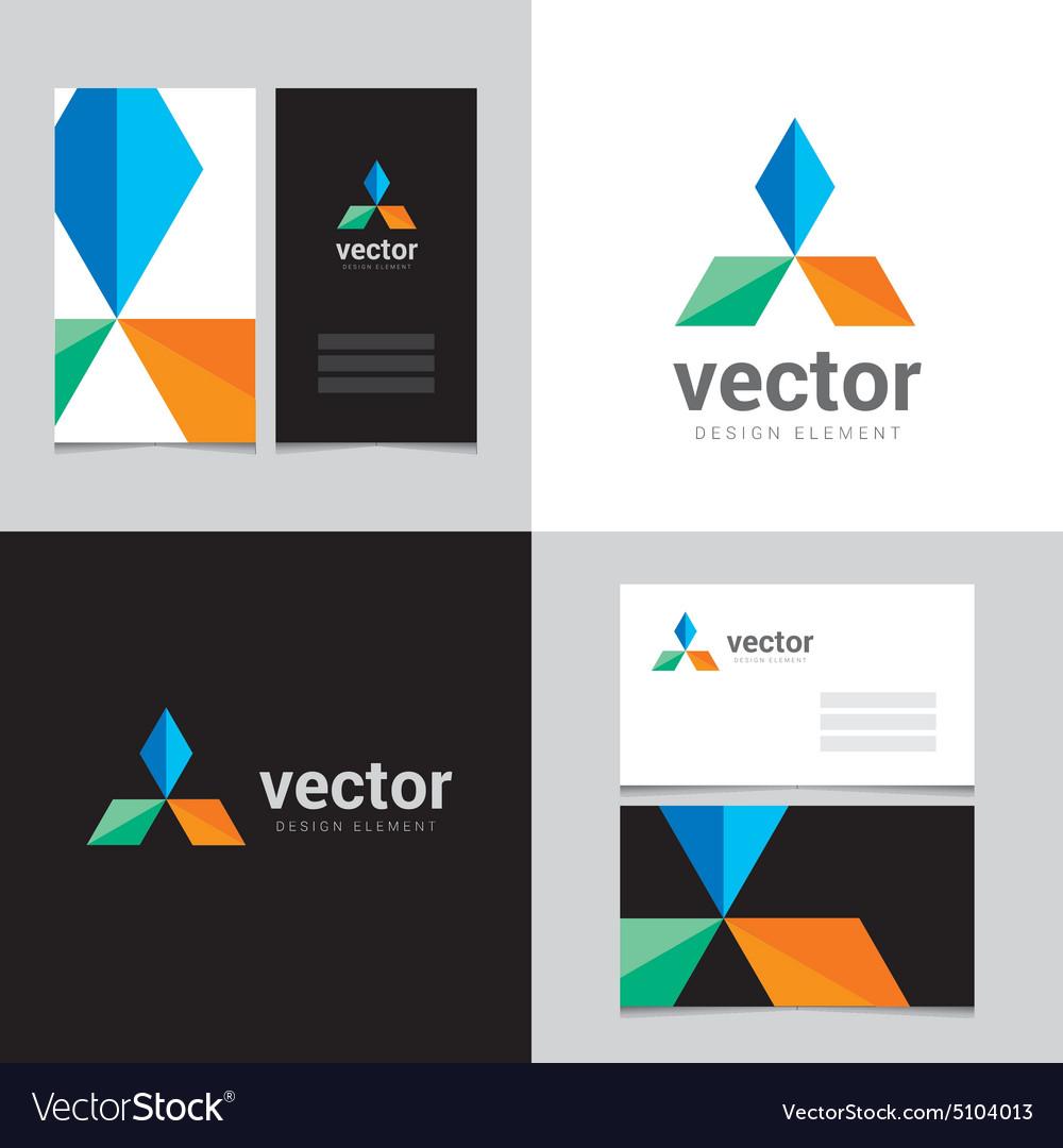 Logo design element 25 vector image