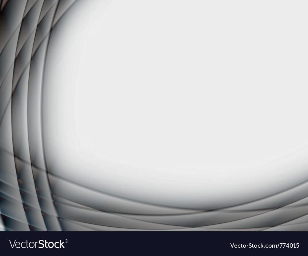 Abstract glass metal frame vector image