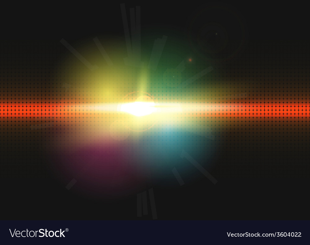 Abstract lighting background vector image