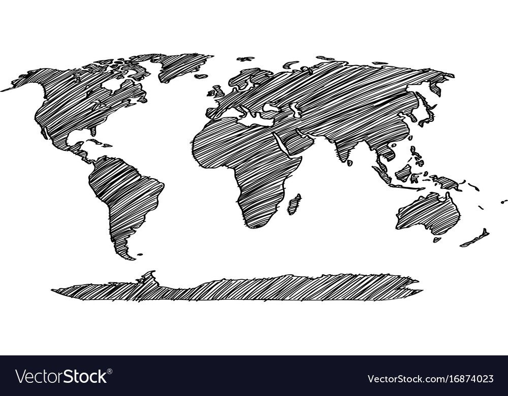 World map earth globe line royalty free vector image world map earth globe line vector image gumiabroncs Choice Image
