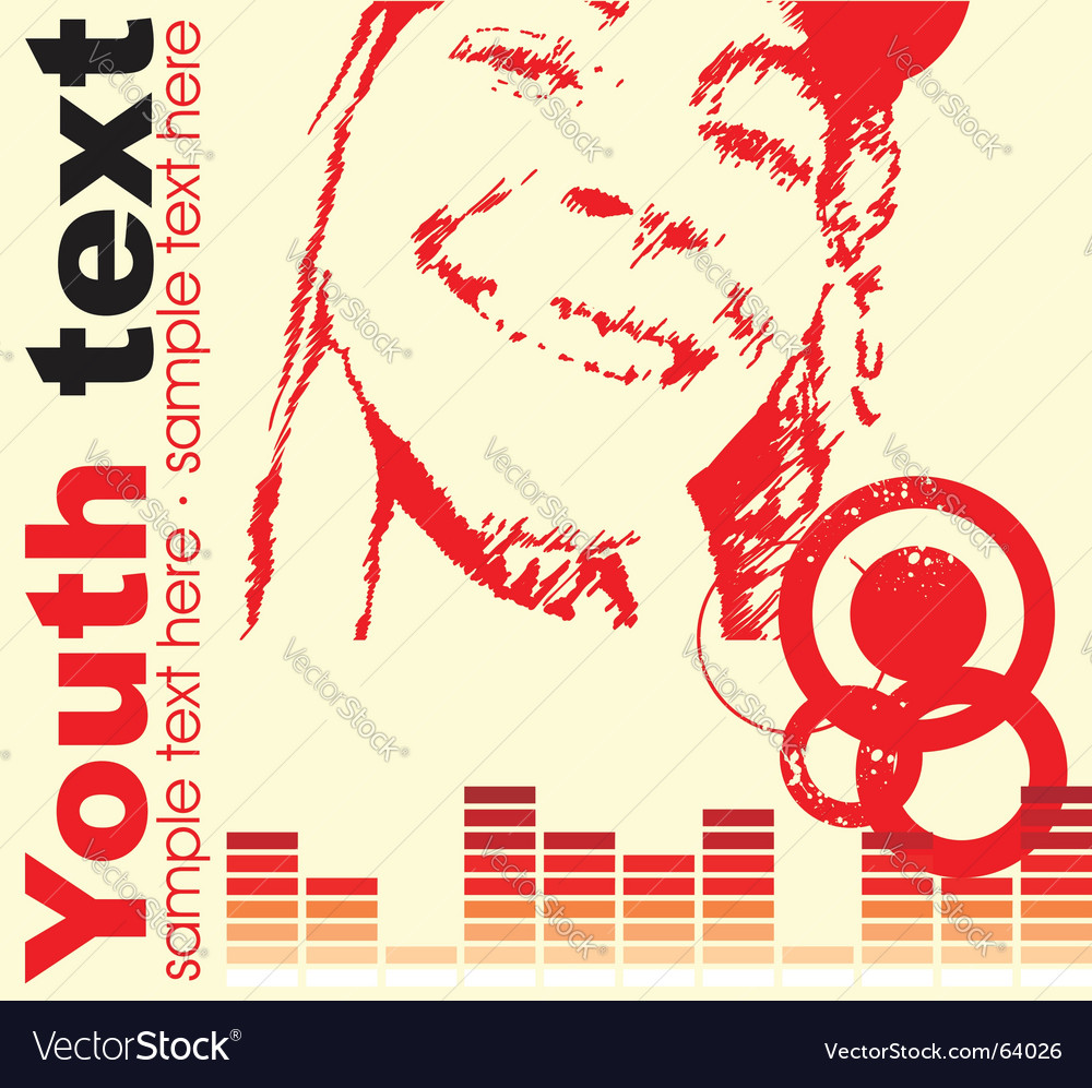 Music document vector image