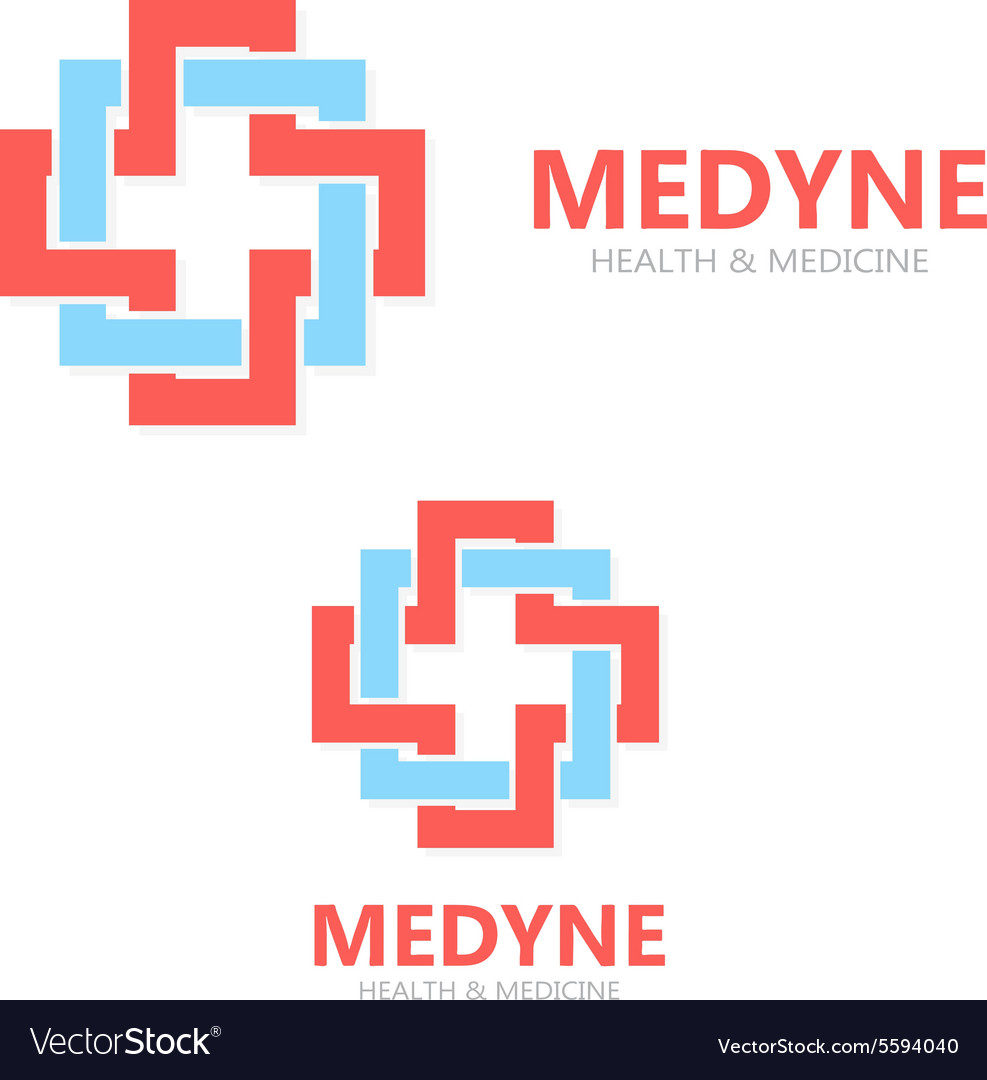 Medical logo or icon vector image