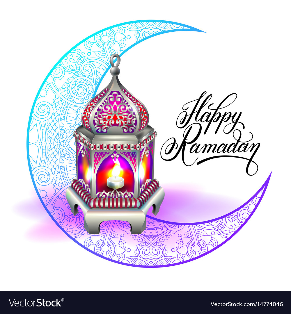 Happy ramadan design for greeting card royalty free vector happy ramadan design for greeting card vector image m4hsunfo Image collections