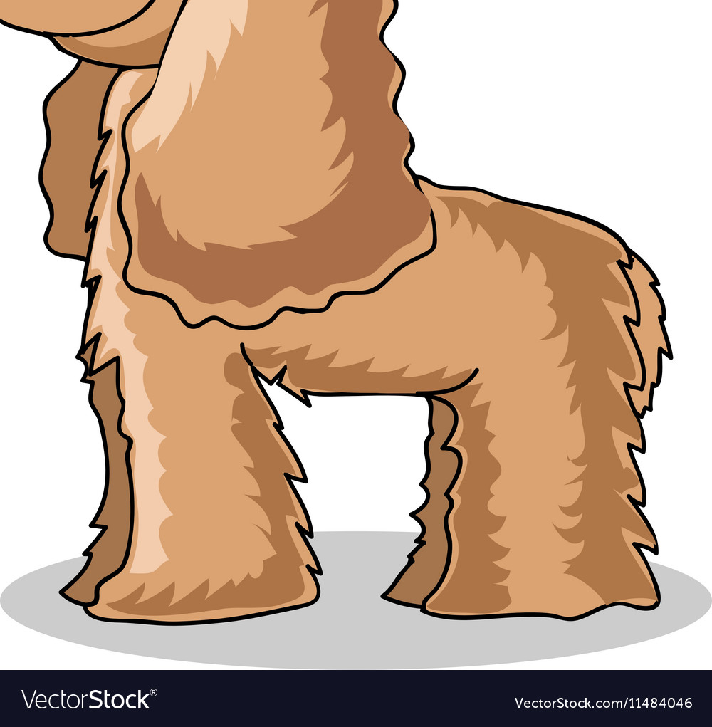 Spaniel Dog vector image