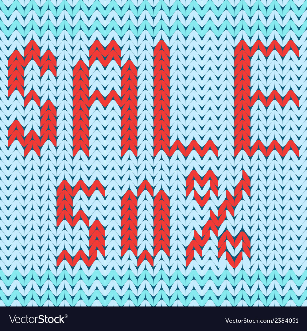 Knitted background discount fifty percent vector image