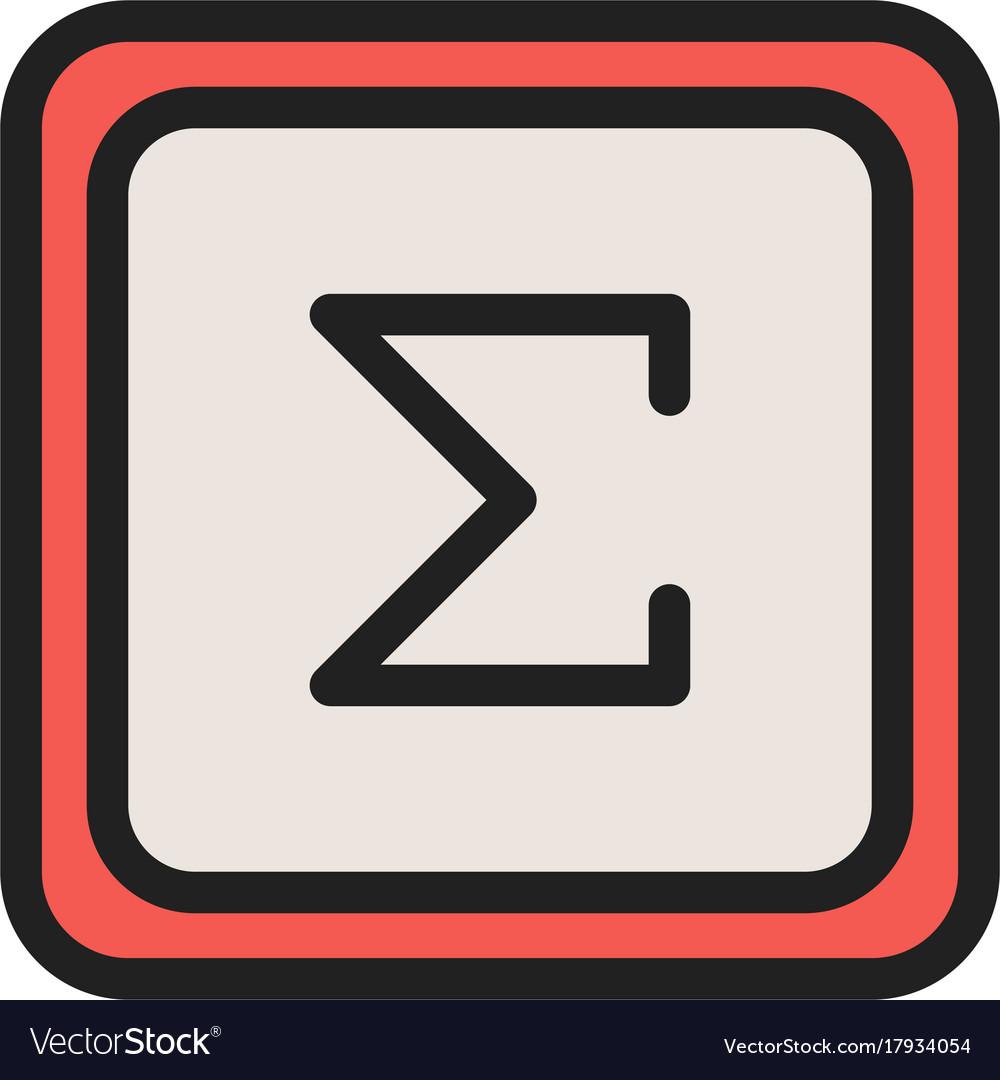Math sigma symbol gallery symbol and sign ideas summation symbol royalty free vector image vectorstock summation symbol vector image buycottarizona buycottarizona