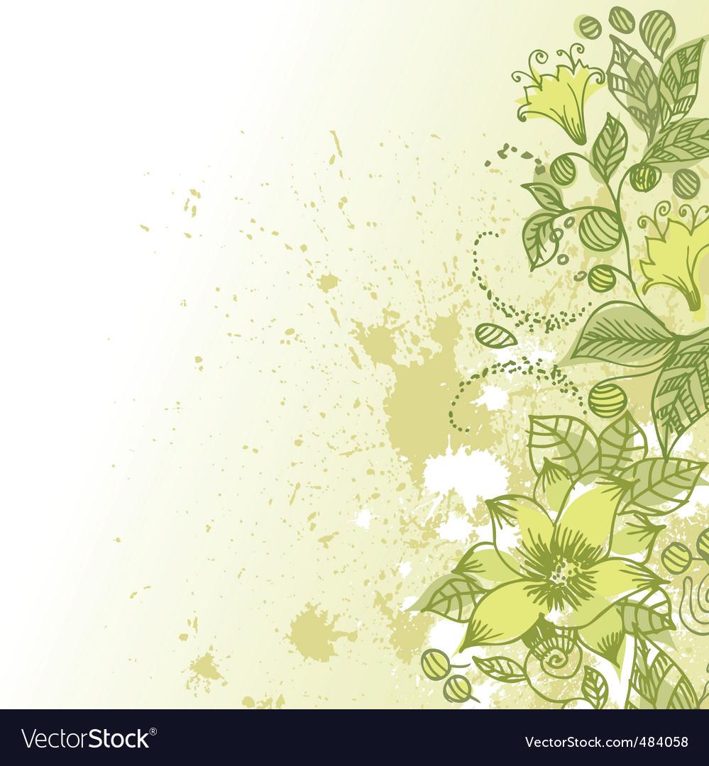 Flower clipart vector image