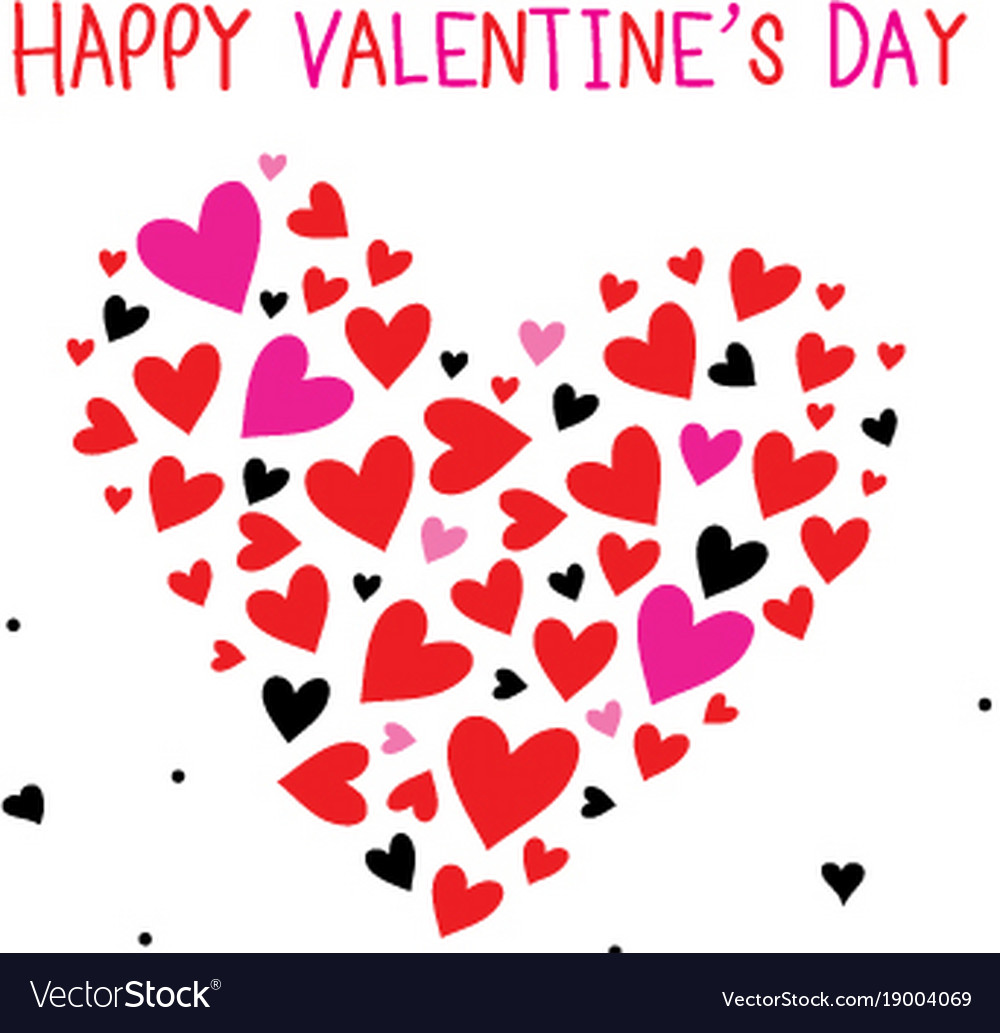 happy valentine day sweetheart cartoon vector image - Happy Valentines Day Sweetheart