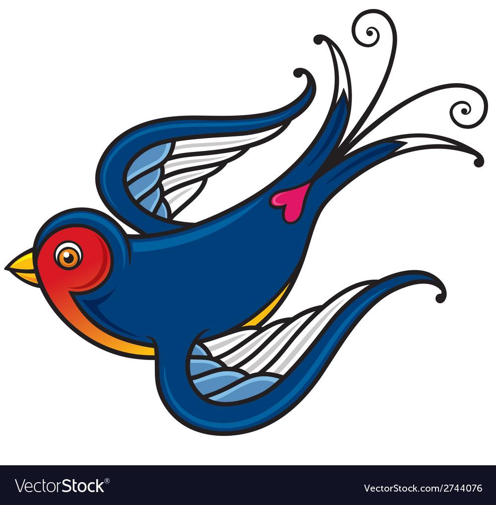 Bird vector image