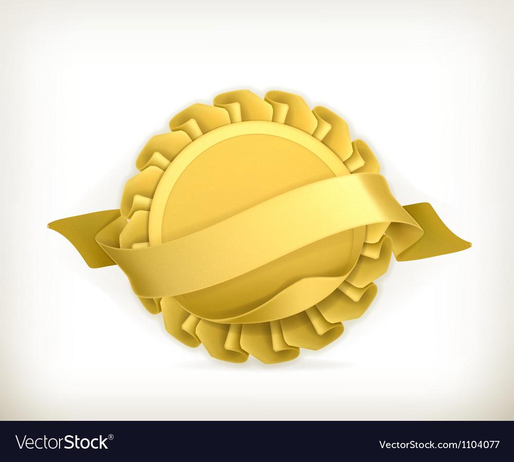 Award vector image