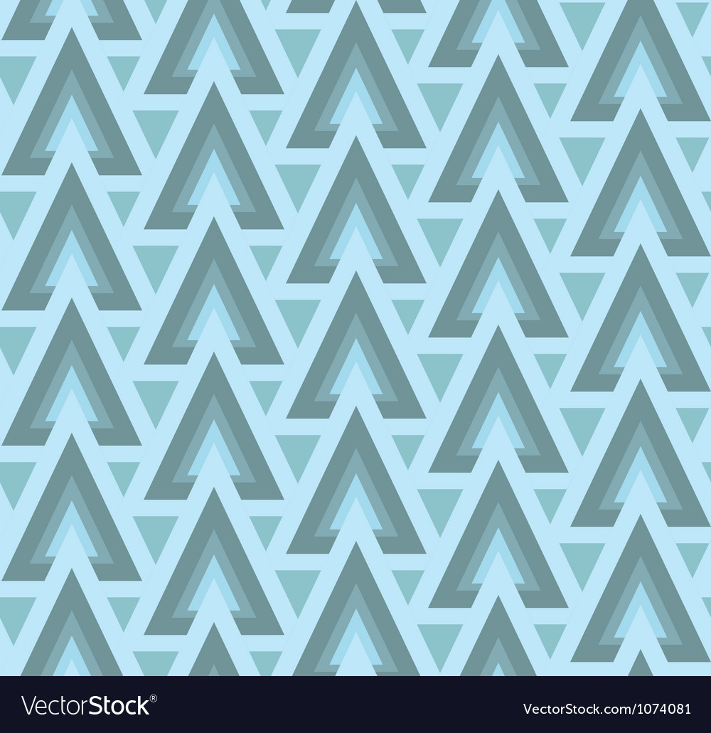 Winter modern geometric seamless pattern ornament vector image