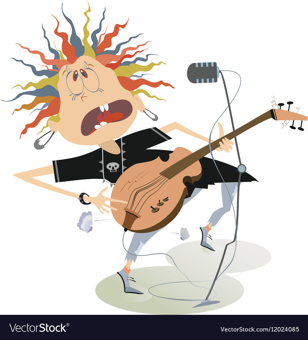 Rock forever vector image