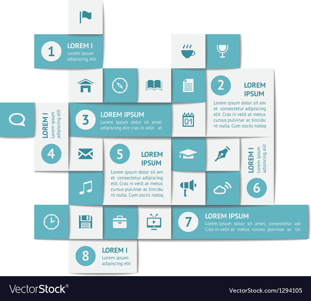 Design elements and templates vector image