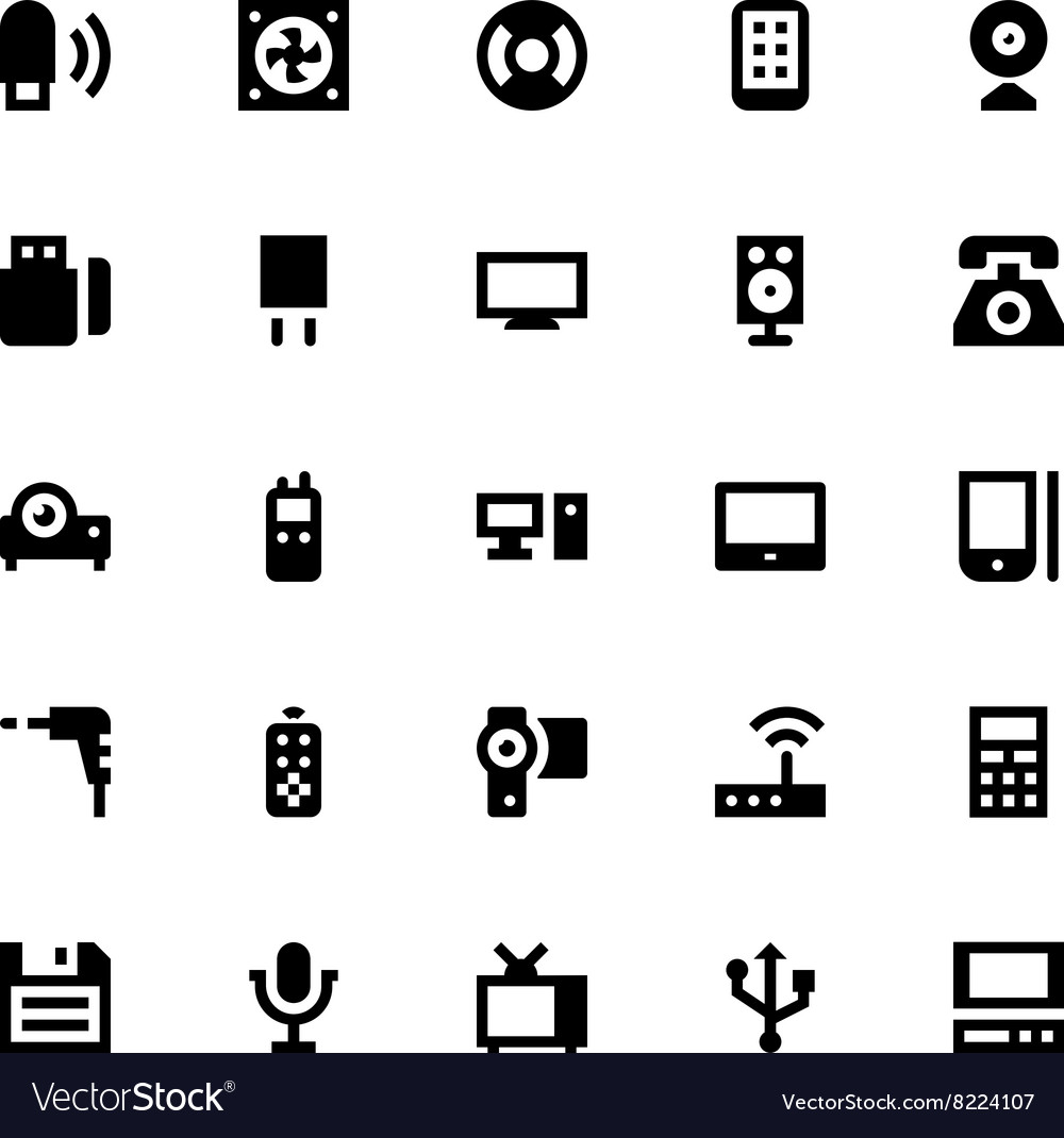 Mobile and Smart Devices-7 vector image