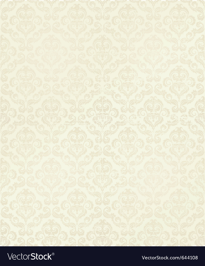 Decorative seamless floral Vector Image