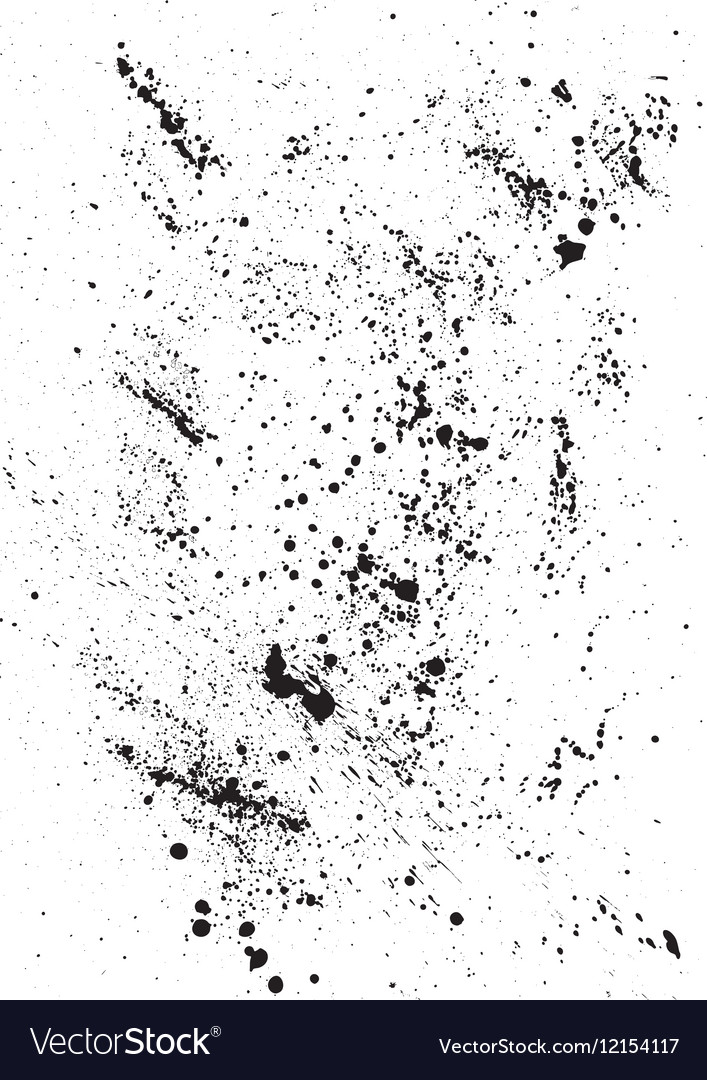 Abstract Background with black blots and ink vector image