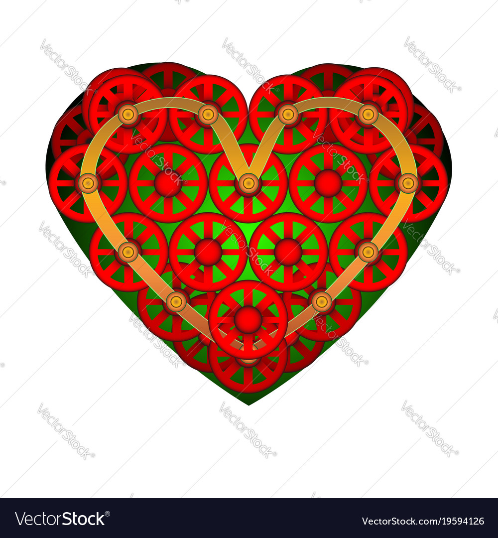 Heart icon a symbol of love valentine s day with vector image biocorpaavc Images