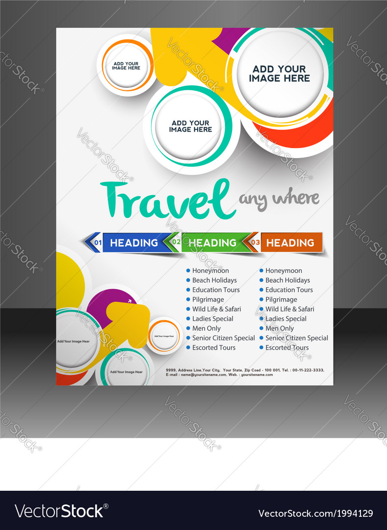 travel template