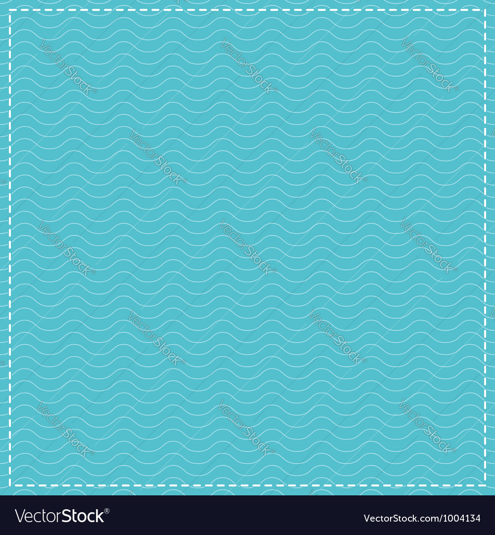 Water Waves Pattern Vector Image