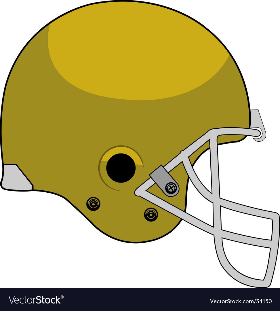Helmet stock vector image