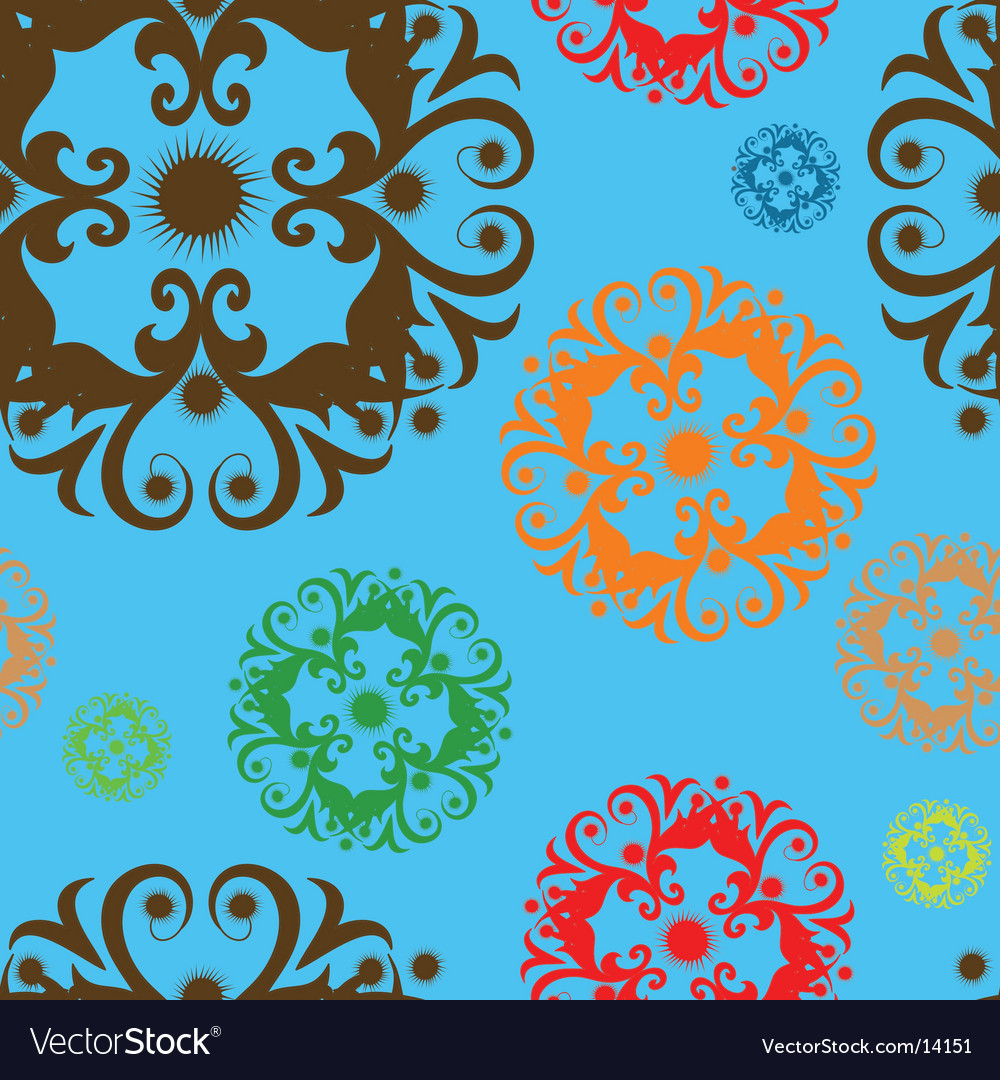 Seamless design vector image