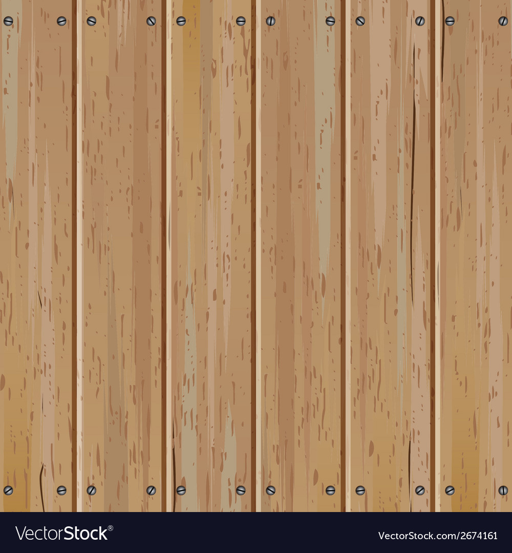 Wooden Fence Part - 29: Old Wooden Fence Background Vector Image
