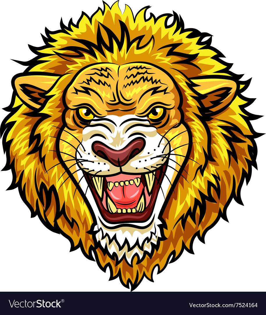 32  Beauty Lion Face for Angry Lion Animation  61obs